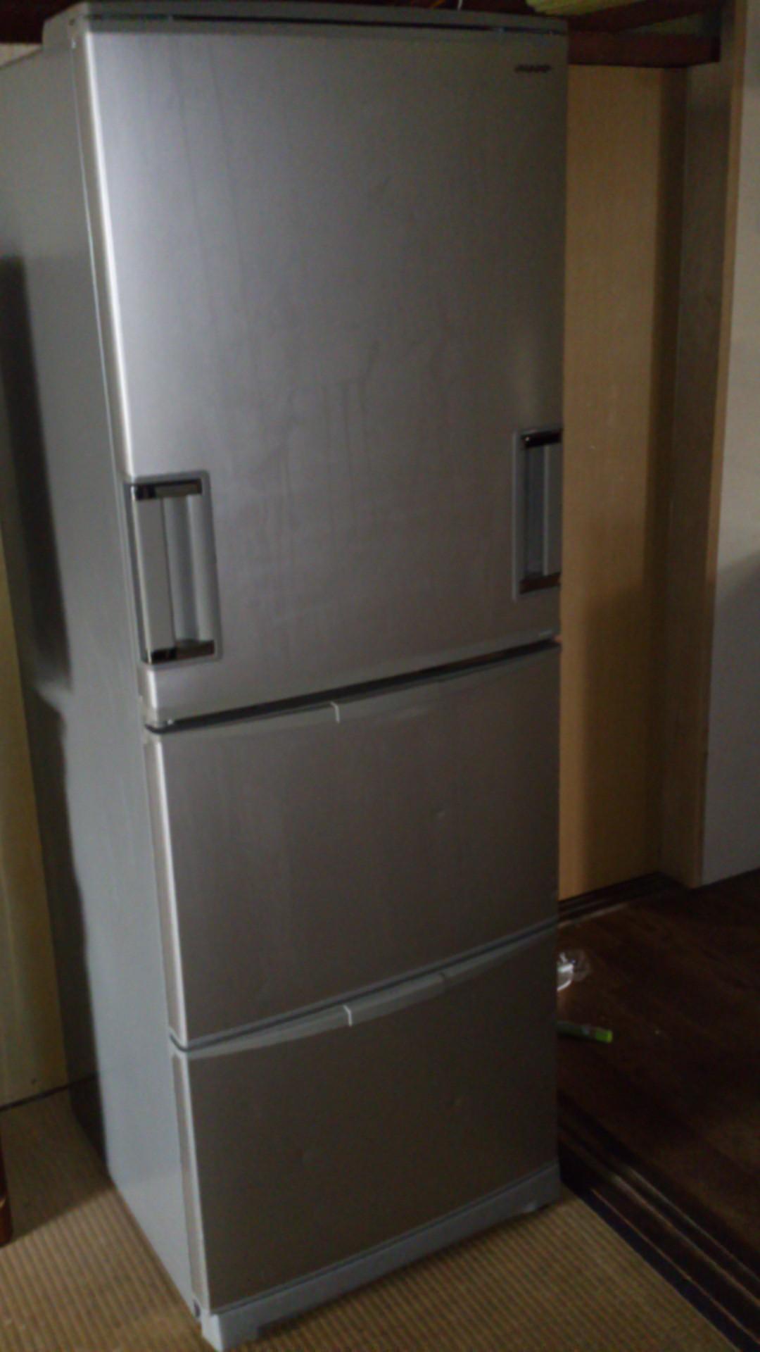 大型冷蔵庫の回収